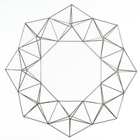 Geo Wire Wreath - Accessories - High Fashion Home