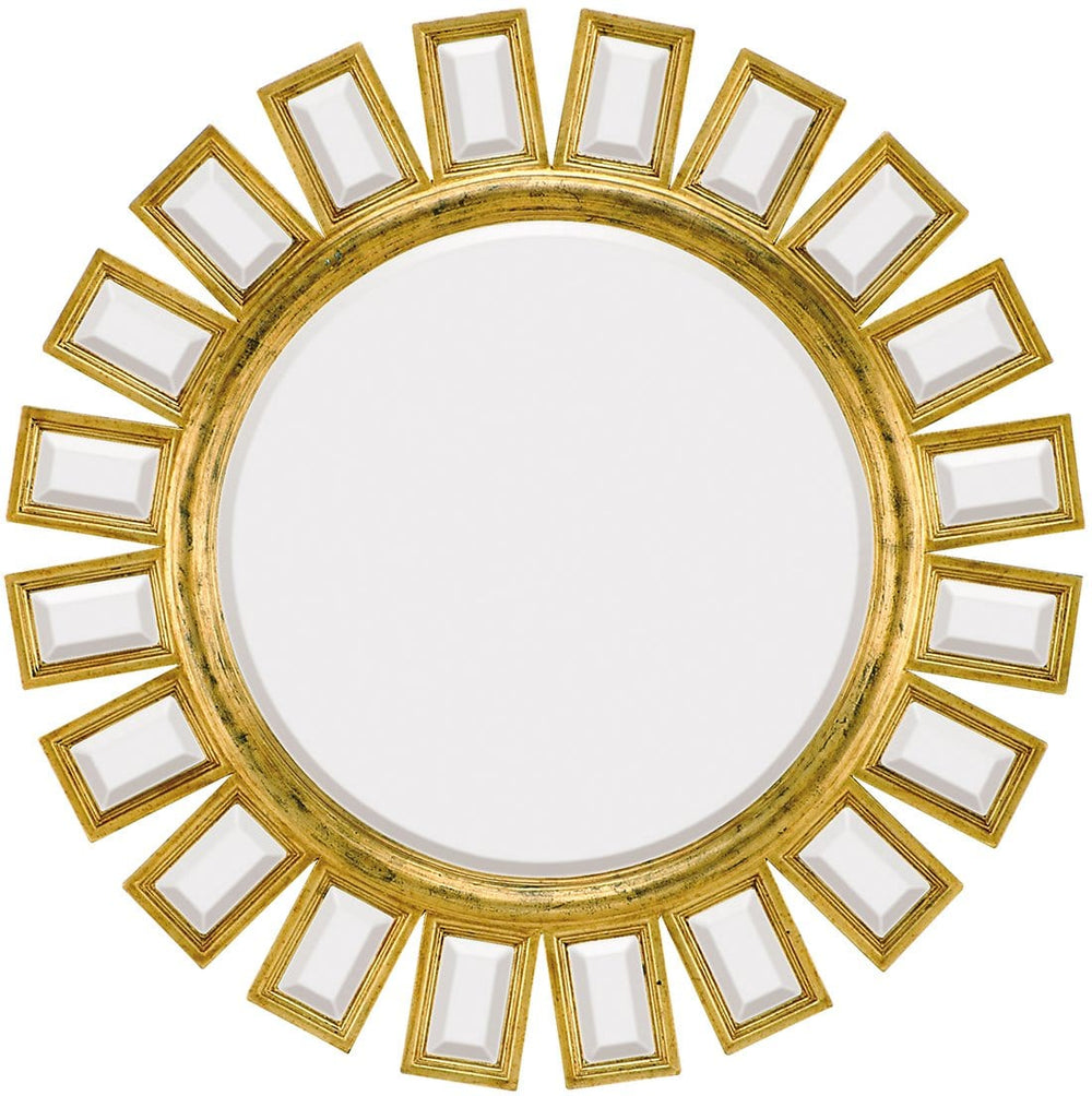 1428-B Antique Gold Mirror - Accessories - High Fashion Home