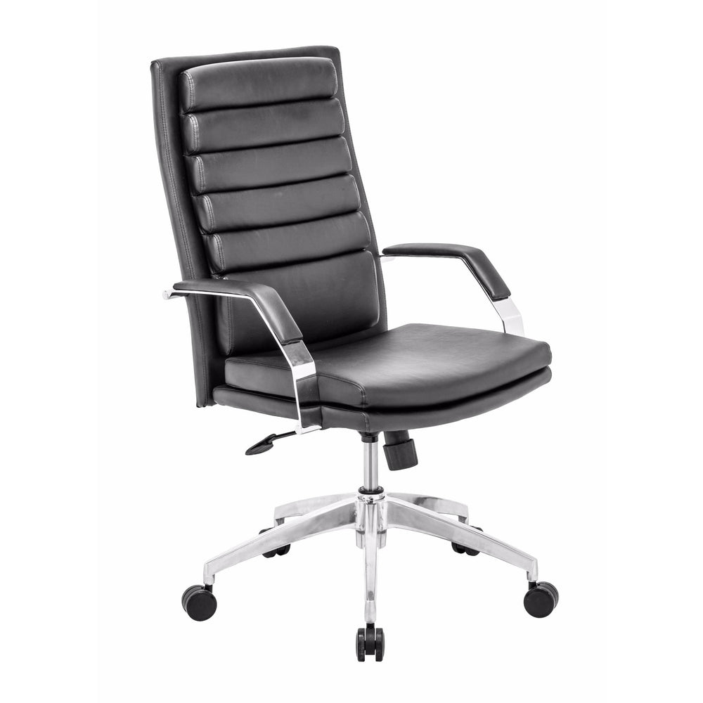 Director Comfort Office Chair, Black - Furniture - Office - High Fashion Home