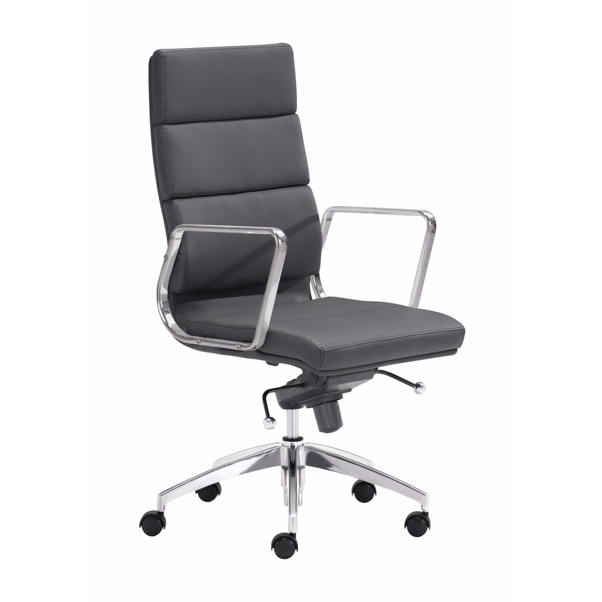 Engineer High Back Office Chair, Black – High Fashion Home