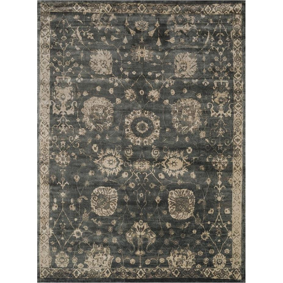 Loloi Rug Nyla NY-25 Charcoal Beige - Accessories - Rugs - Loloi Rugs