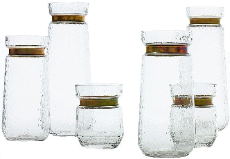 Jasmine Vase, Clear - Accessories - High Fashion Home