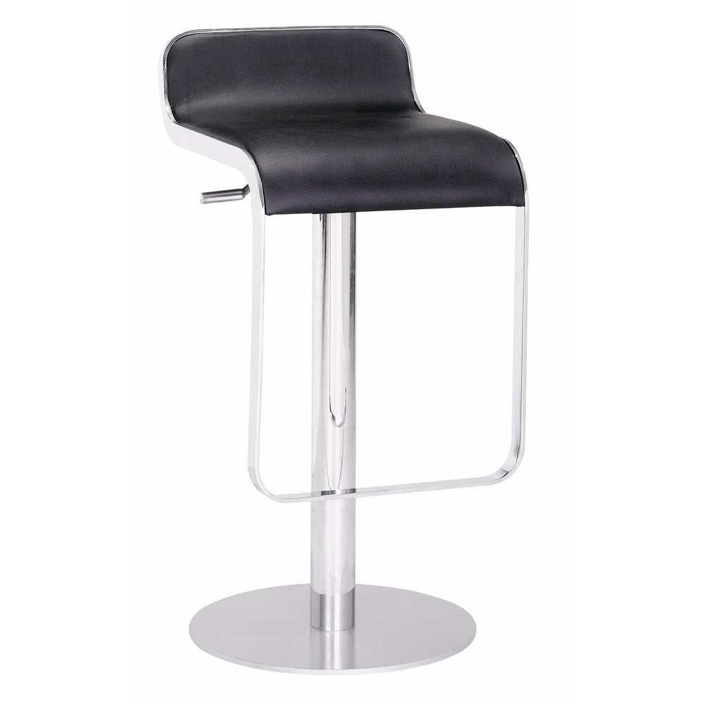 Equino Bar Stool, Black - Furniture - Dining - High Fashion Home