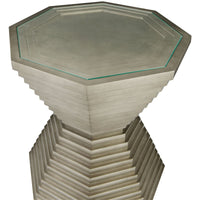 Mosaic Stacked Octagon End Table