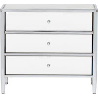 Hollywood Metal Chest, Nickel - Furniture - Storage - High Fashion Home