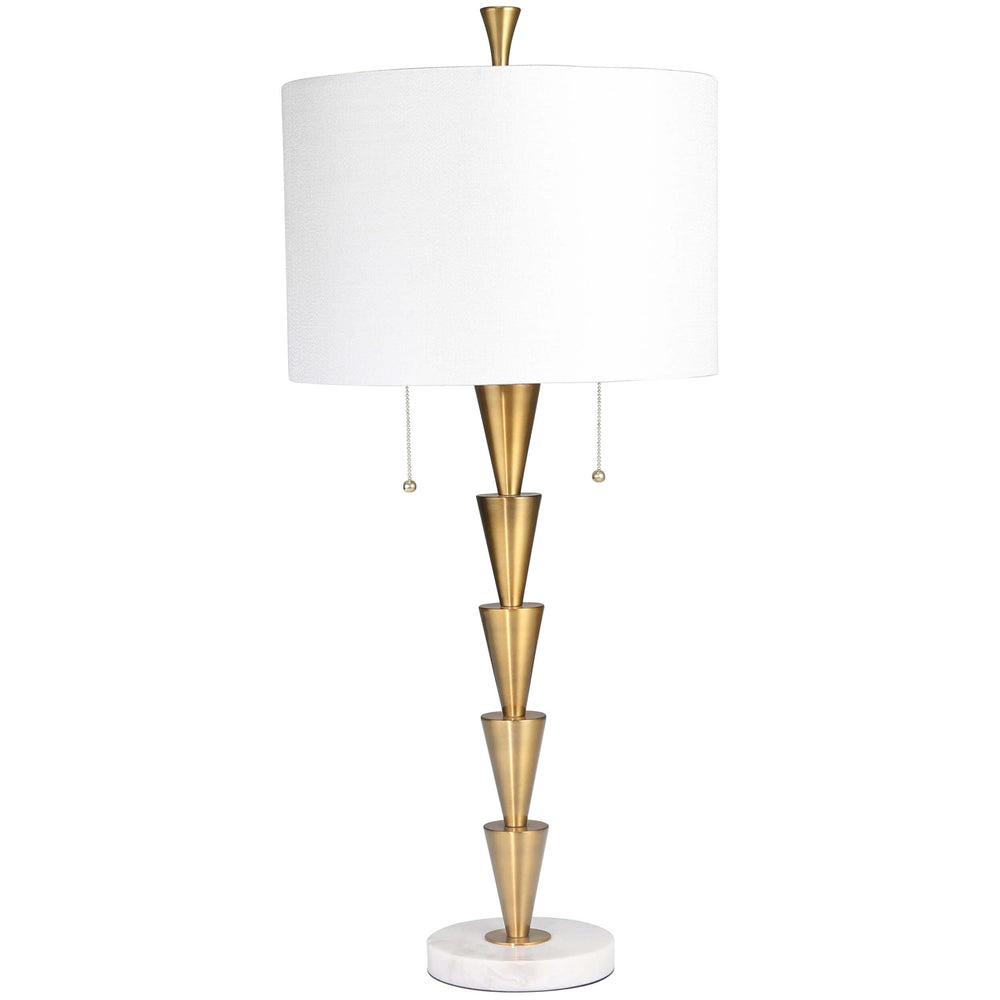 Stacked Cones Table Lamp