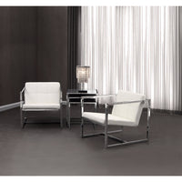 Carbon Chair, White - Furniture - Chairs - Fabric