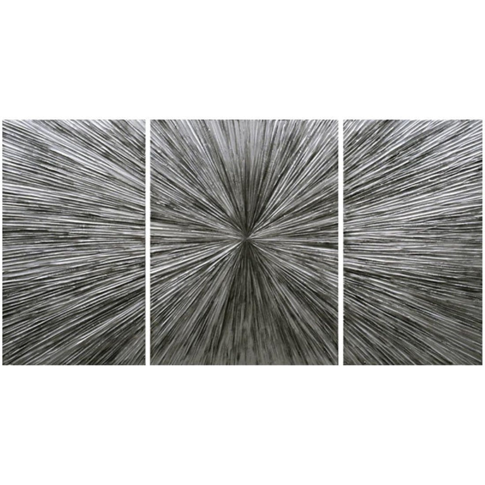 Warp Speed I - III, Set of 3 - Accessories - Canvas Art - Abstract