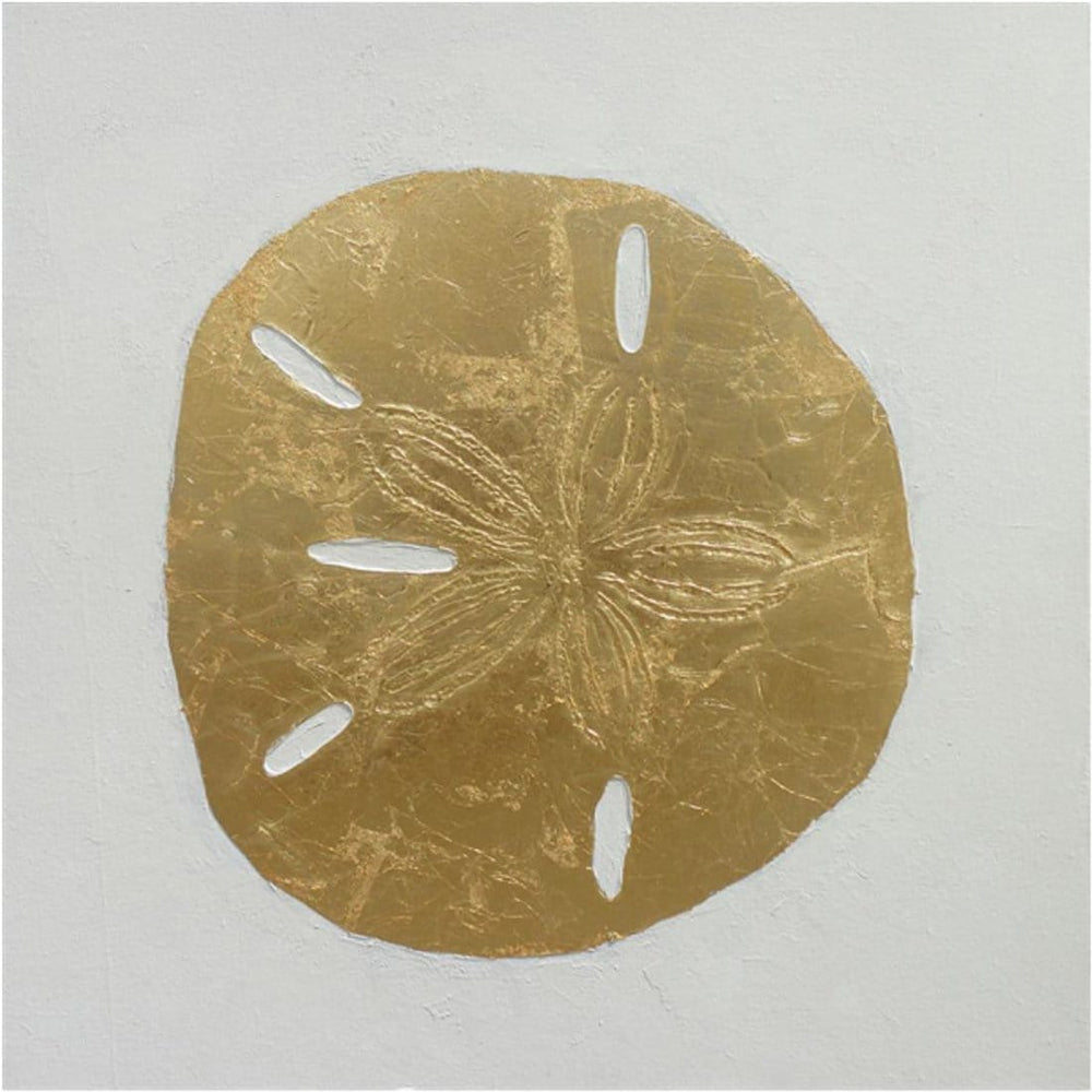 Gold Sand Dollar - Accessories - Canvas Art - Object