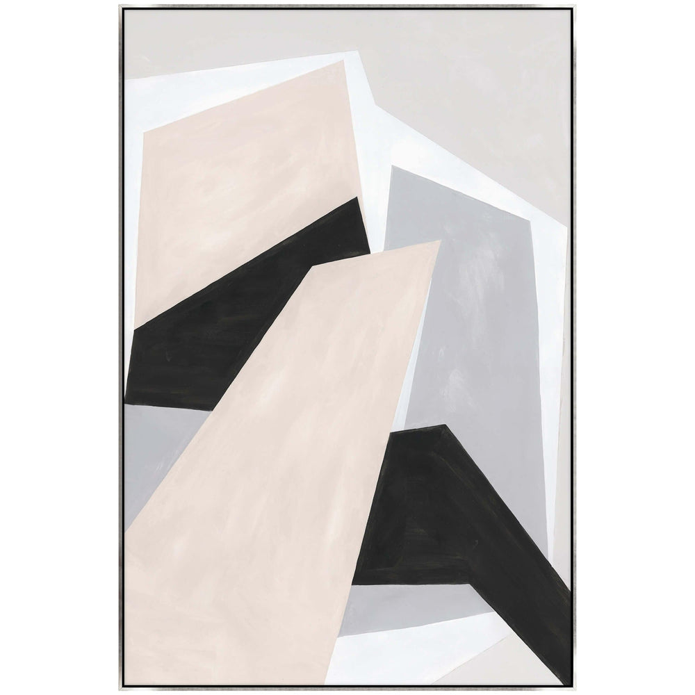 Path on Shapes II Framed - Accessories Artwork - High Fashion Home