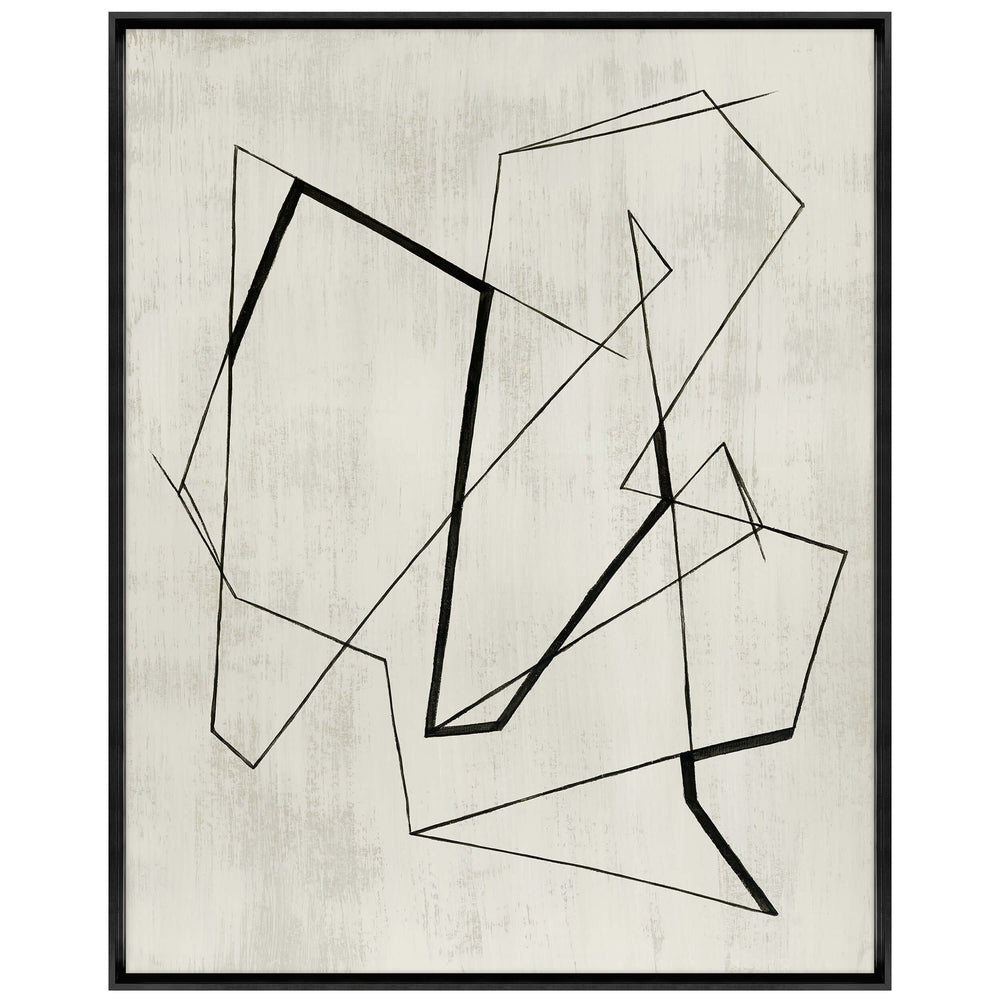 Lines and Time I Framed - Accessories Artwork - High Fashion Home
