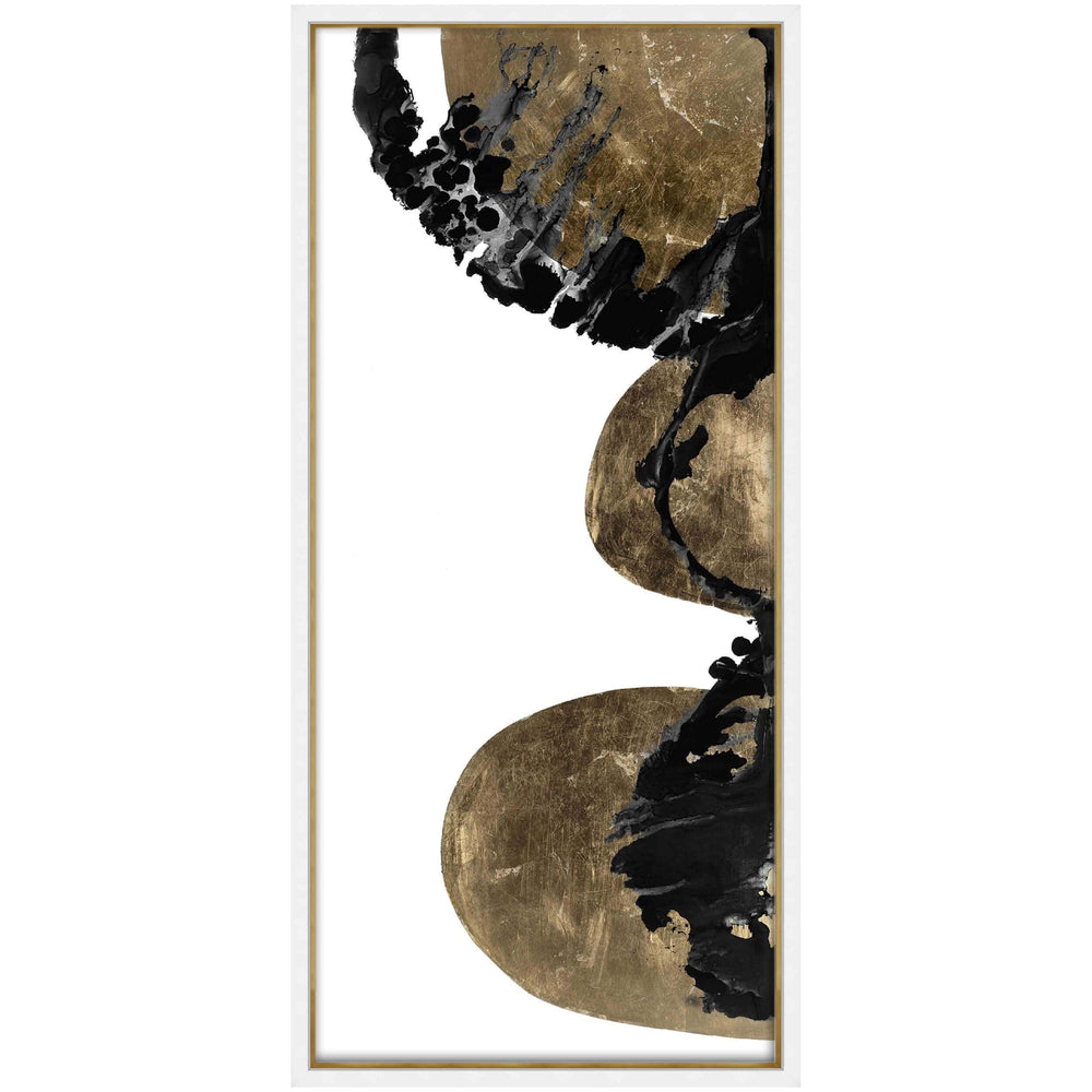 Gilded Indigo I Framed - Accessories Artwork - High Fashion Home