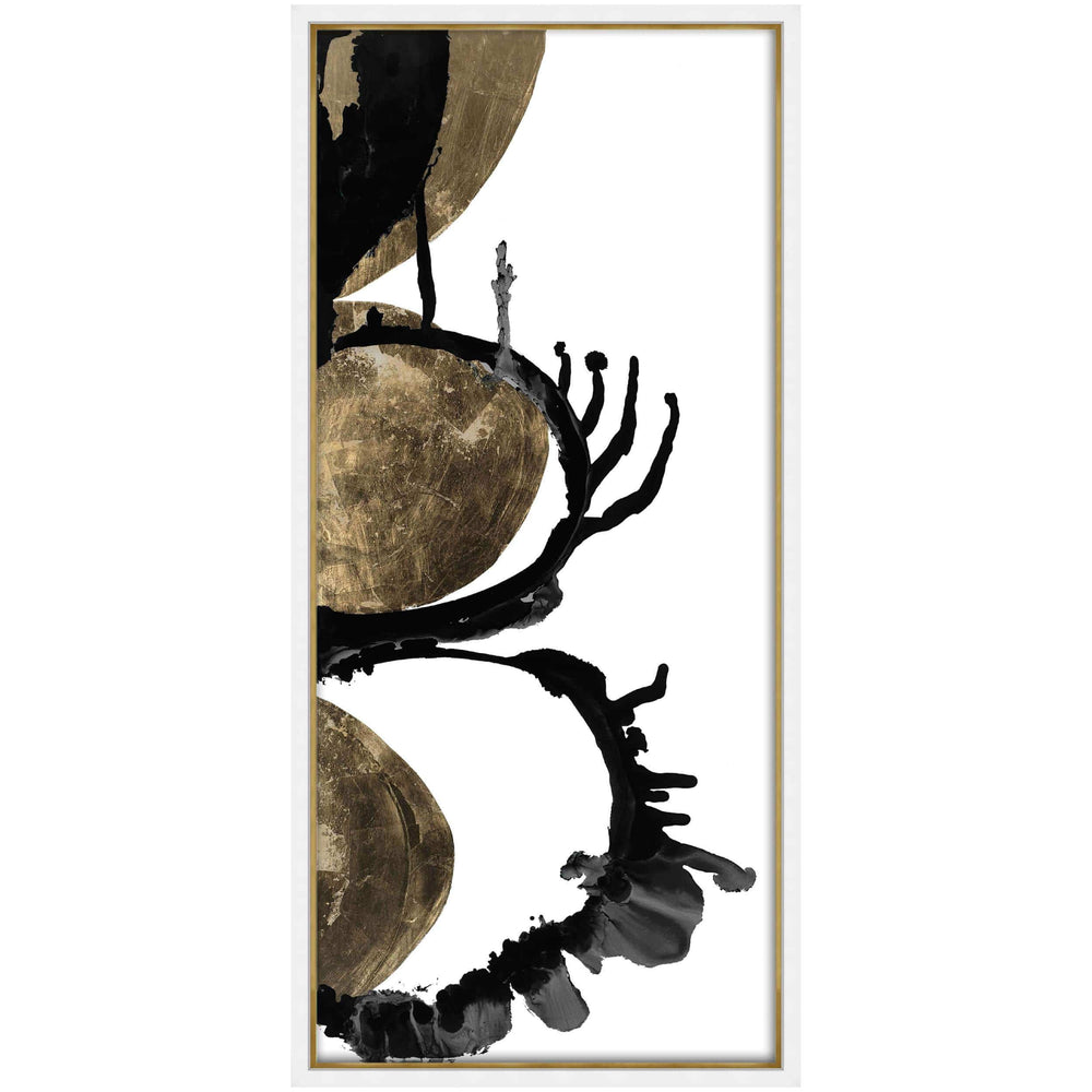Gilded Indigo II - Accessories - Canvas Art - Abstract