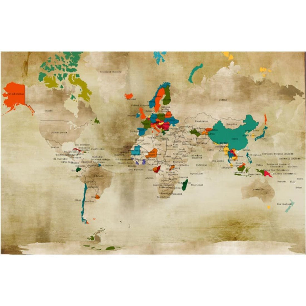 Gilt Projection I - Accessories - Canvas Art - Cities and Maps