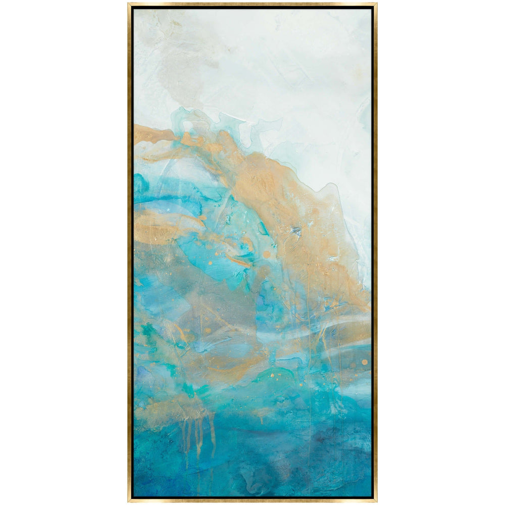 Swimming in Blue I Framed - Accessories Artwork - High Fashion Home