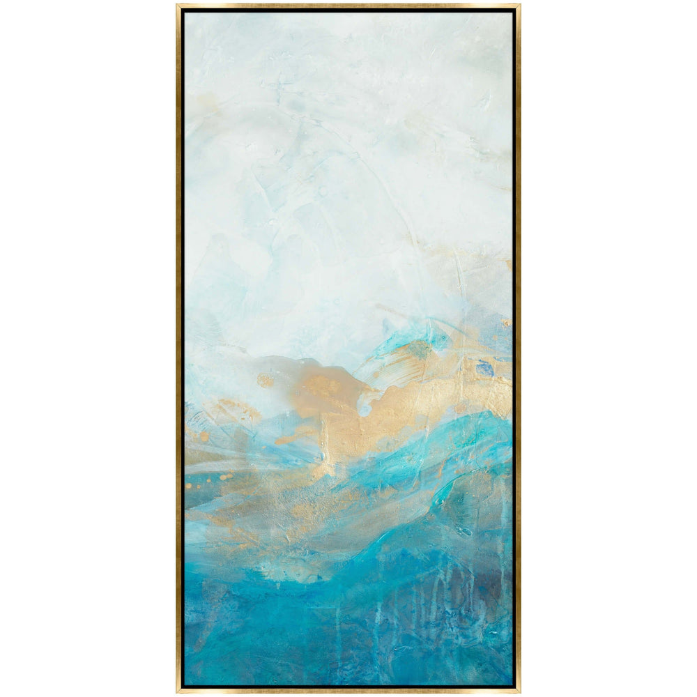 Swimming in Blue II Framed - Accessories Artwork - High Fashion Home