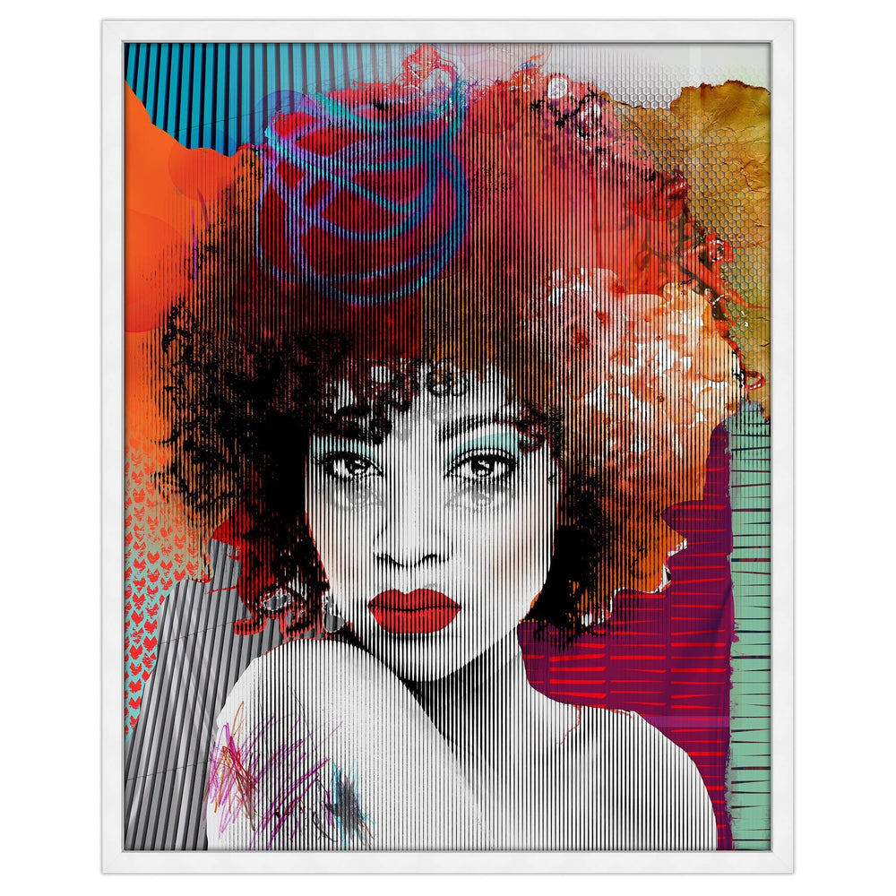 Her III Framed - Accessories Artwork - High Fashion Home