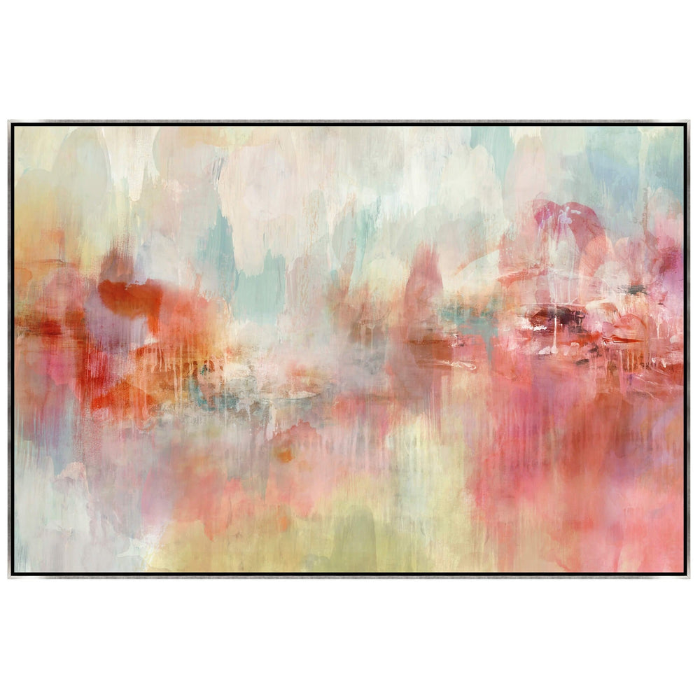 Daydreams in Spring, Framed - Accessories - Canvas Art - Abstract