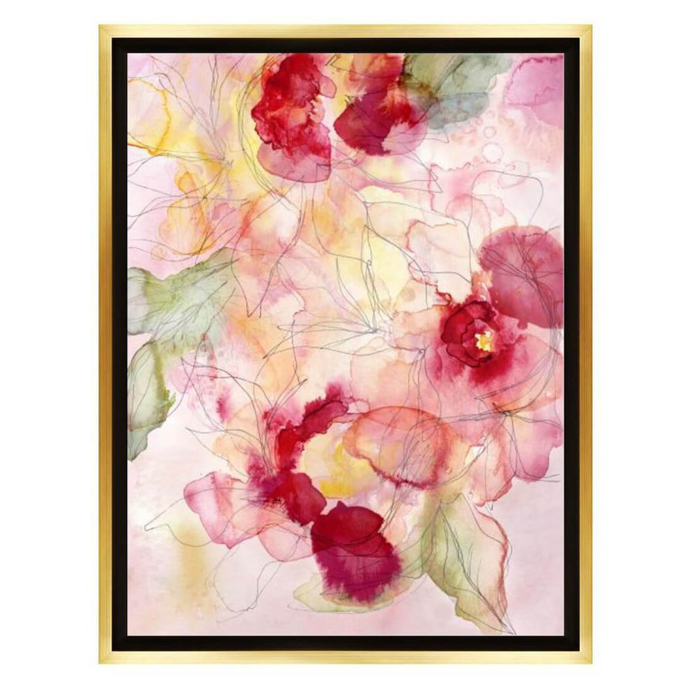 Blossoming Thoughts Framed - Accessories Artwork - High Fashion Home