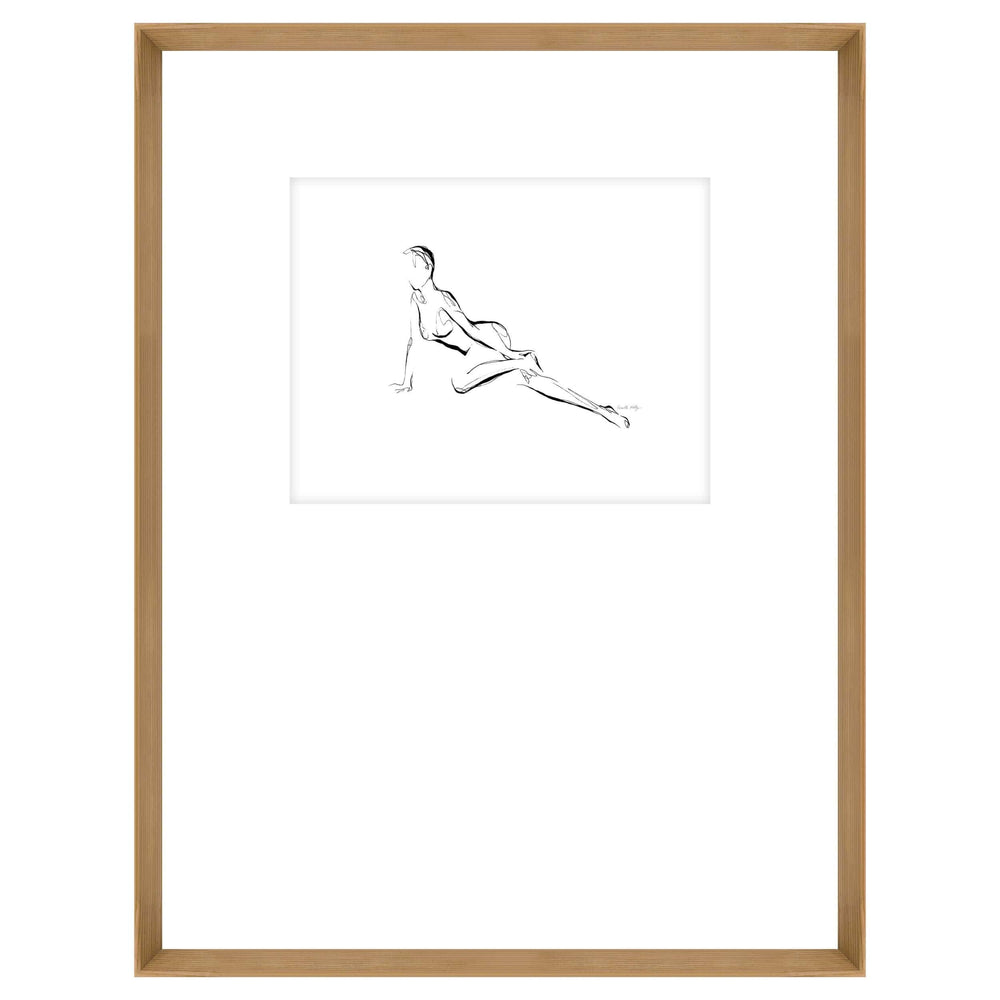 Figure Drawing II Framed