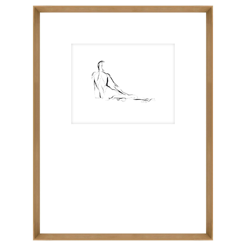 Figure Drawing III Framed - Accessories Artwork - High Fashion Home