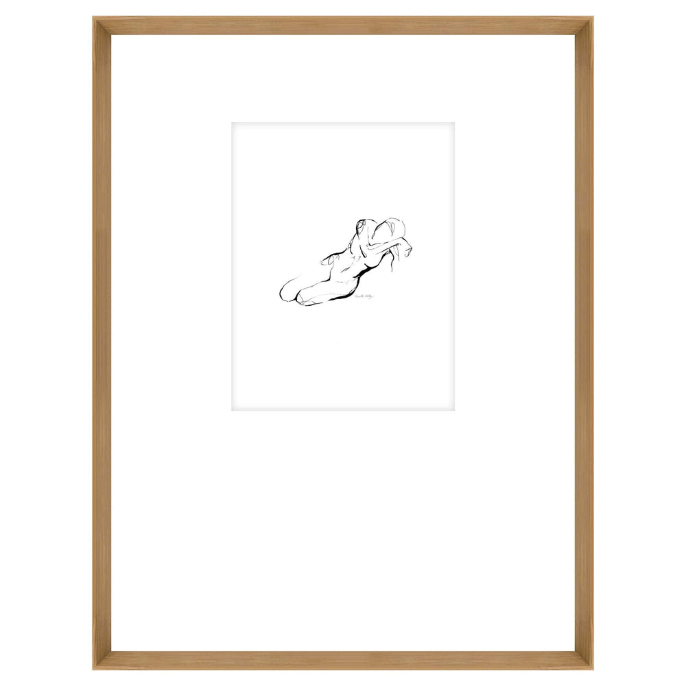 Figure Drawing V, Framed - Accessories Artwork - High Fashion Home