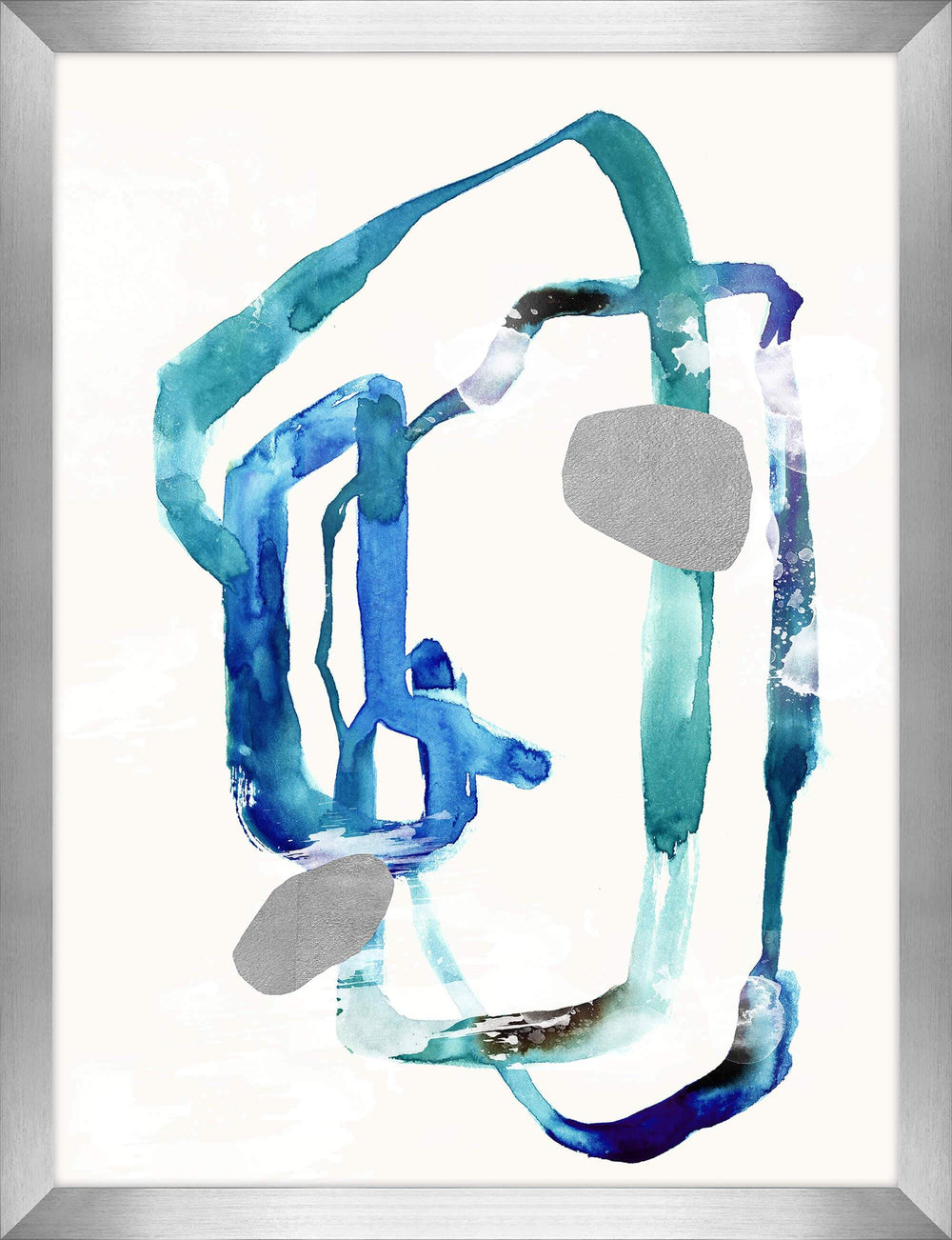 Free Flow VI Framed - Accessories - Canvas Art - Abstract