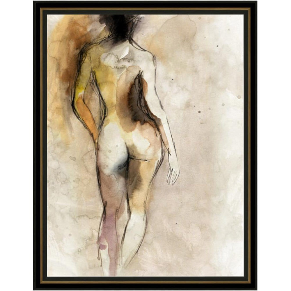 Nude Figure I Framed - Accessories Artwork - High Fashion Home