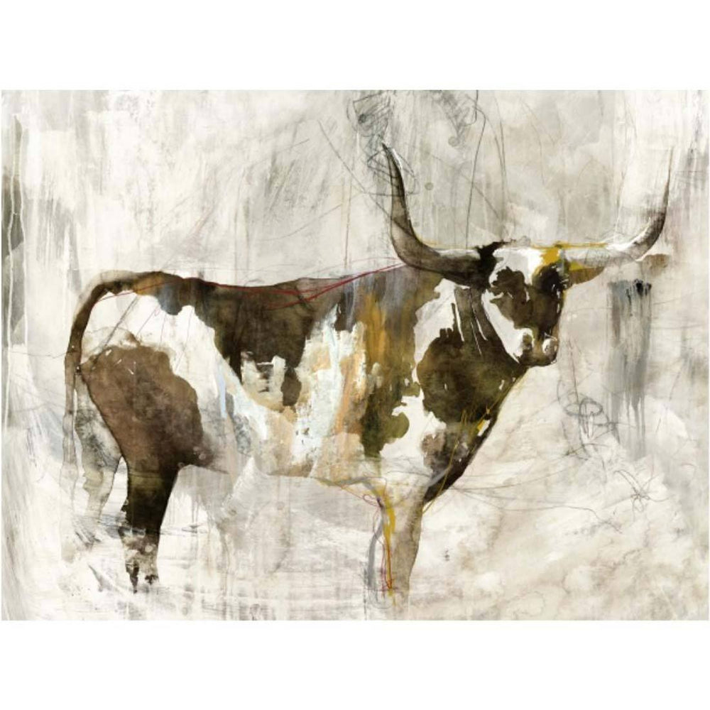 Brown Bovine - Accessories Artwork - High Fashion Home
