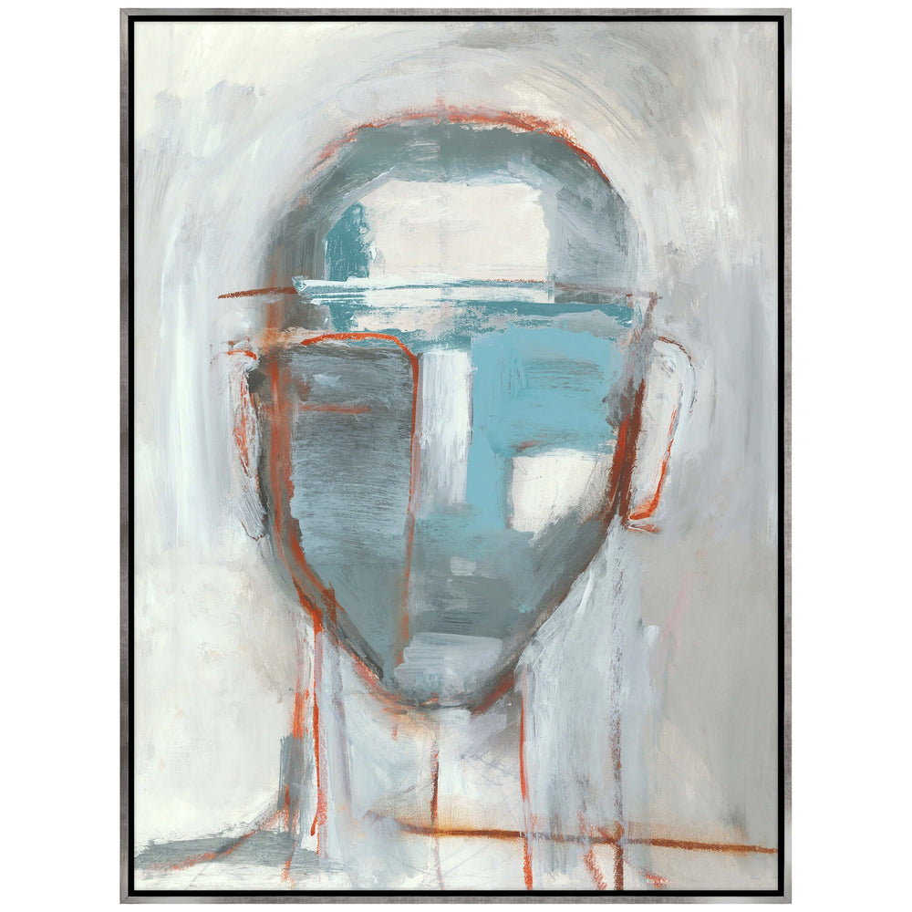 Face Time VI Framed - Accessories Artwork - High Fashion Home