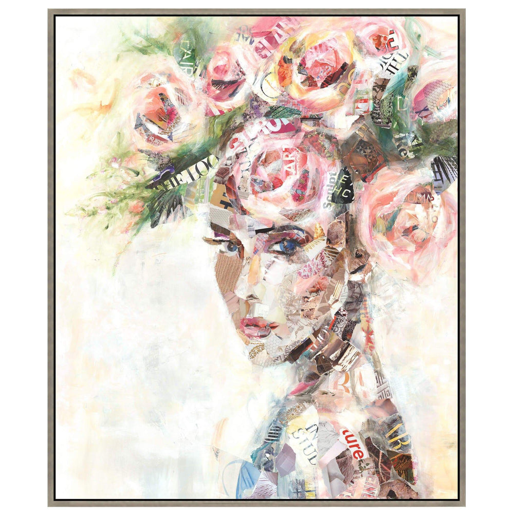 The First Visitor Framed - Accessories Artwork - High Fashion Home