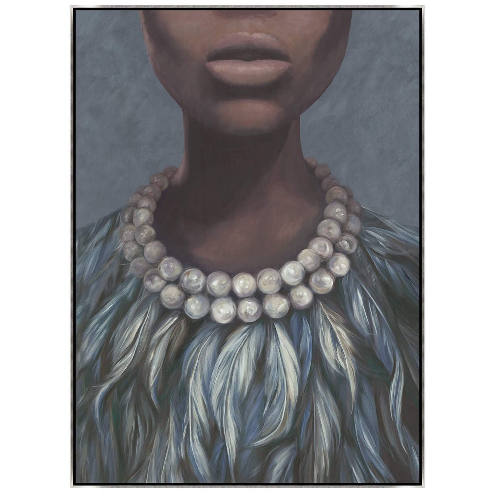 Evening Dress Framed - Accessories - Canvas Art - People
