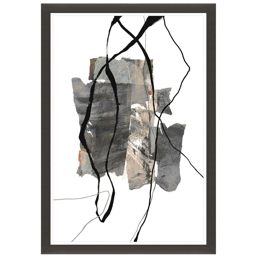 Descent of Shapes II Framed - Accessories Artwork - High Fashion Home