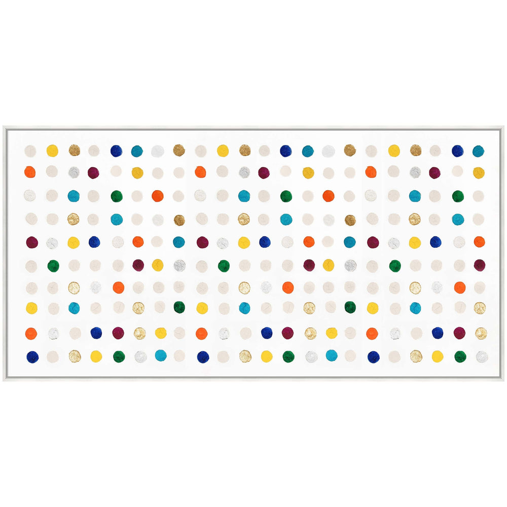 Color Dots I Framed - Accessories Artwork - High Fashion Home