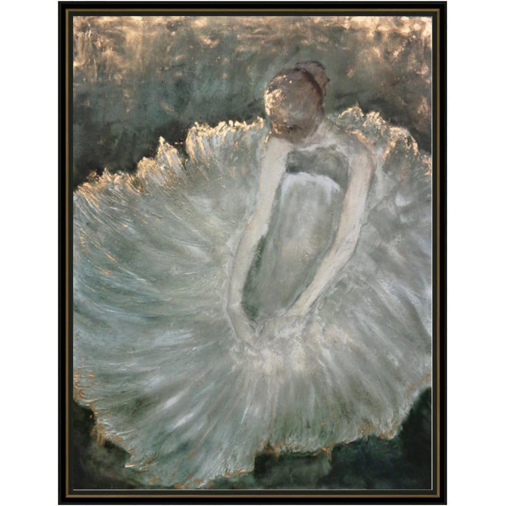 Dancer At Rest Framed - Accessories - Canvas Art - People