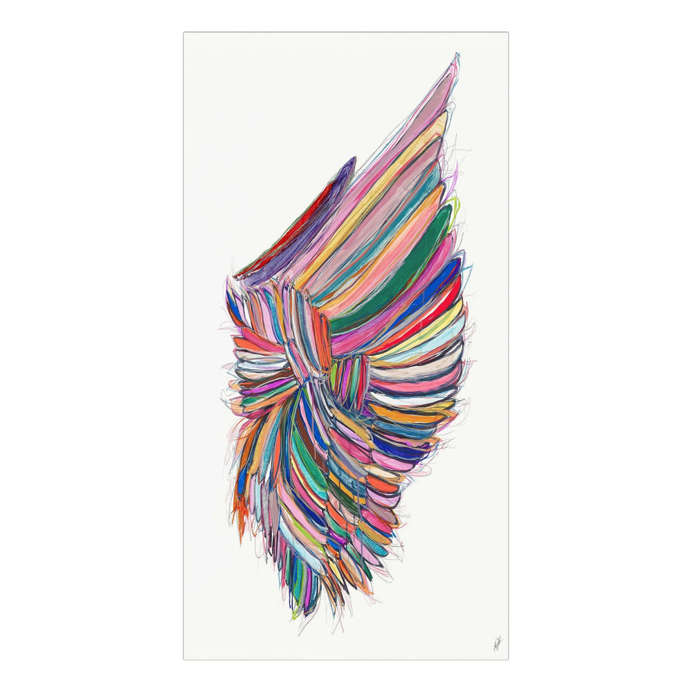 Be You Wings II  - Accessories - Canvas Art - People