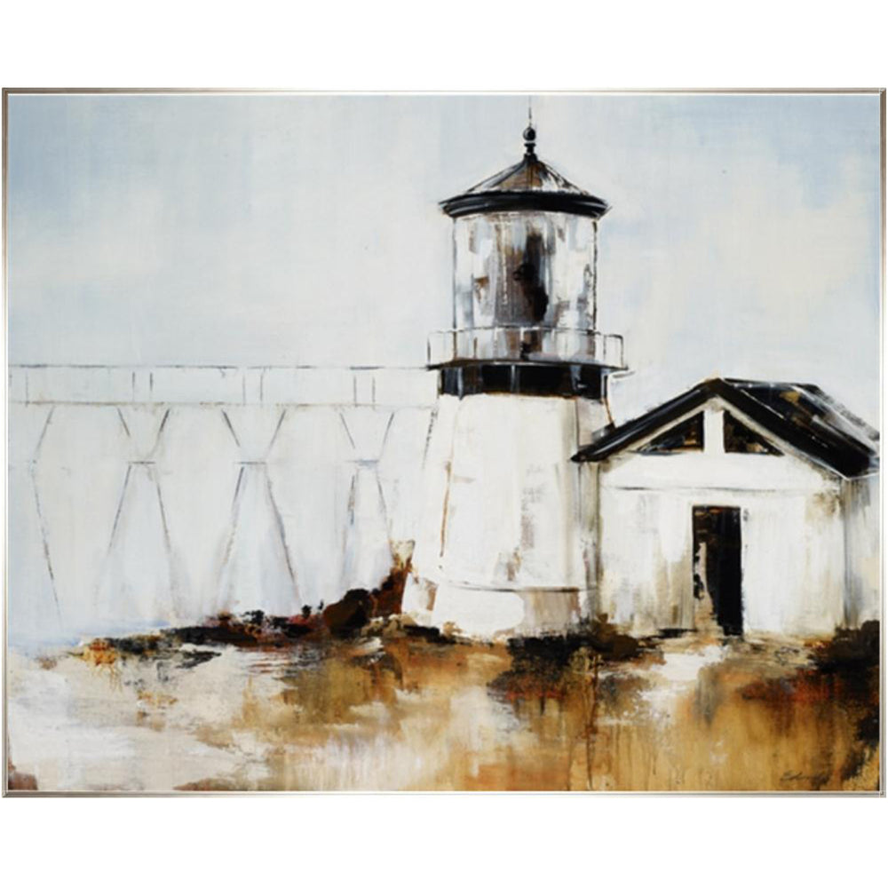 Light House Framed - Accessories - Canvas Art - Landscape