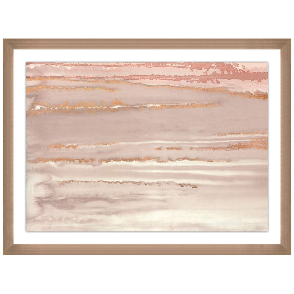 Horizon Rosewater II  - Accessories - Canvas Art - Abstract