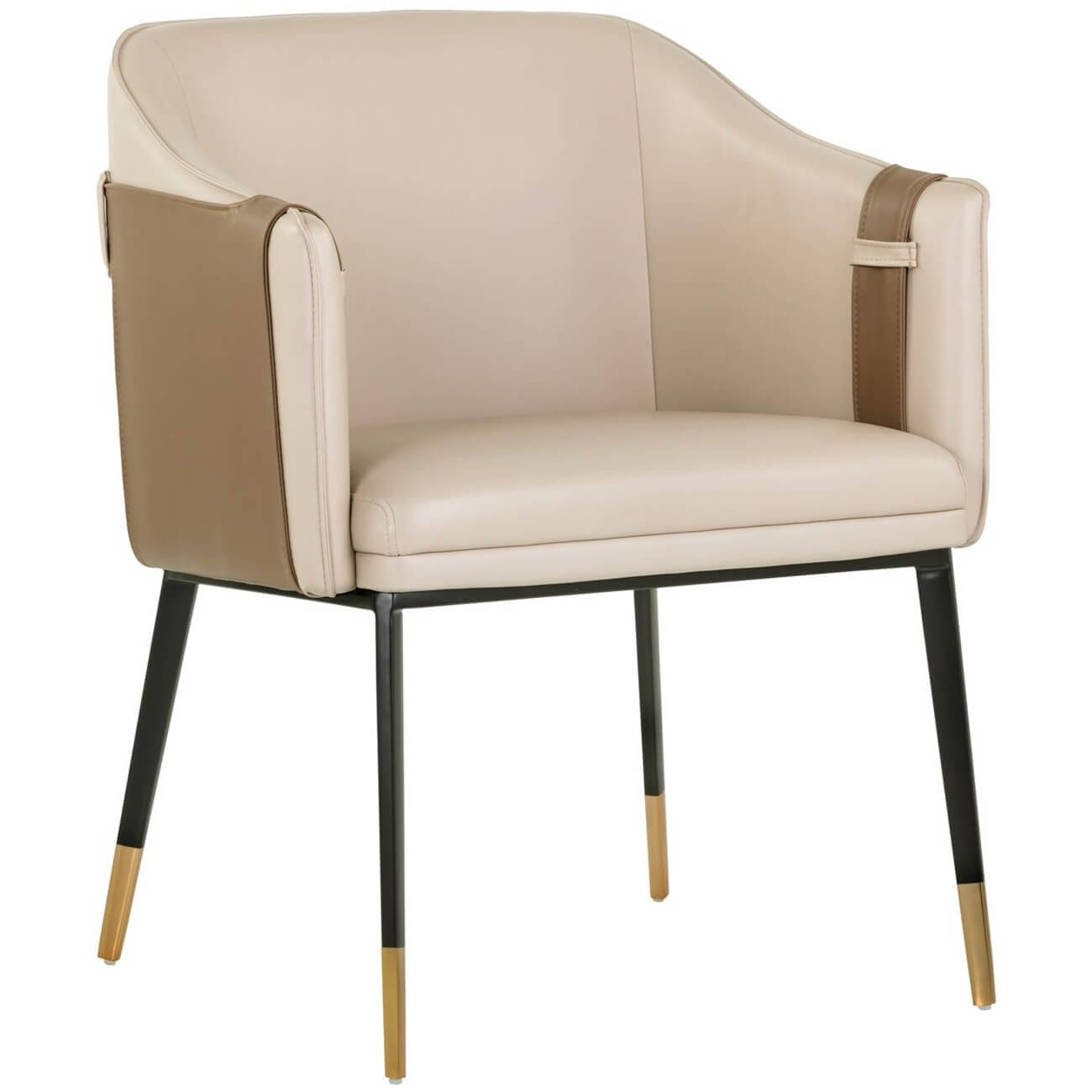 Pleasing Carter Chair Napa Tan High Fashion Home Gamerscity Chair Design For Home Gamerscityorg