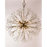 Dunkirk 8 Light Chandelier, Aged Brass - Lighting - Chandeliers