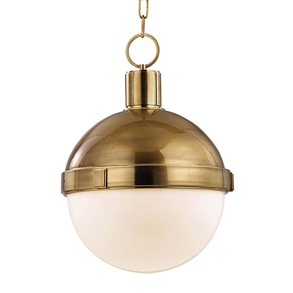 Lambert Pendant, Aged Brass - Lighting - High Fashion Home