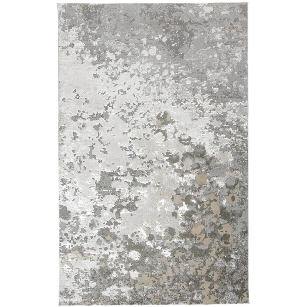 Feizy Micah Rug 3336F Silver/Gray