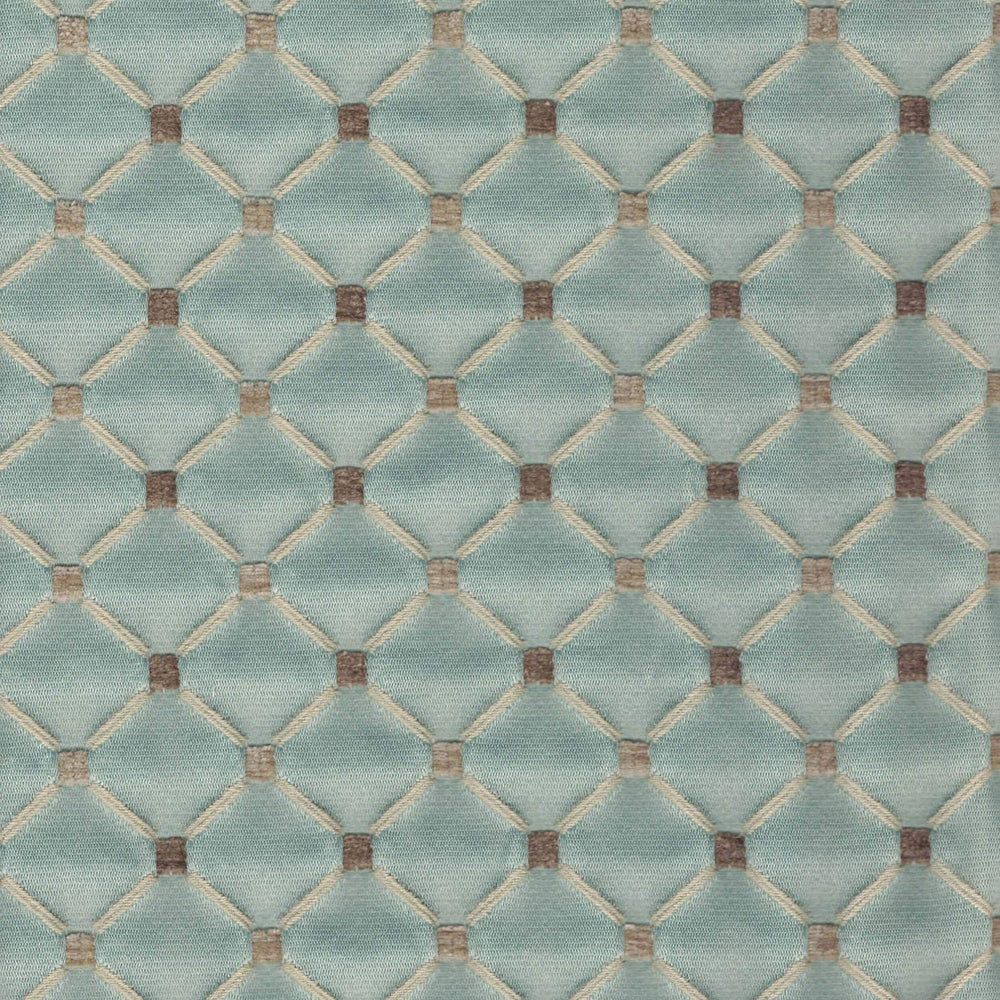 02104 Chenille, Azure - Fabrics - High Fashion Home