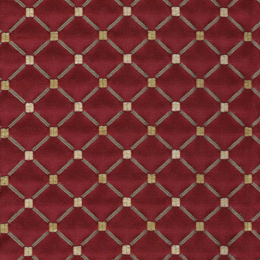 70382 Chenille, Scarlet - Fabrics - High Fashion Home