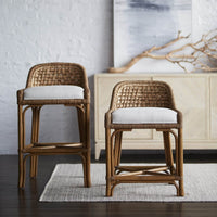 Capitola Bar Stool - Furniture - Dining - High Fashion Home