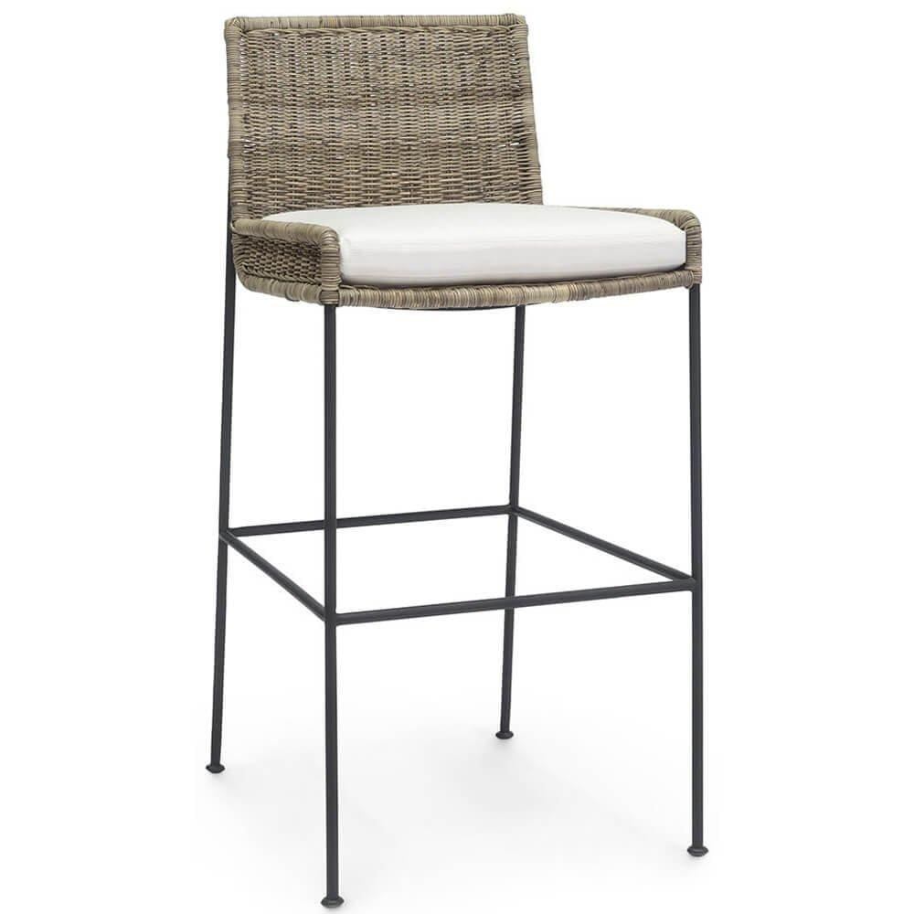 Nora Bar Stool - Furniture - Dining - High Fashion Home