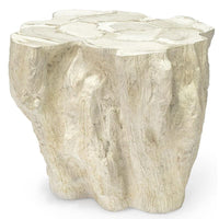 Camilla Fossilized Clam Side Table