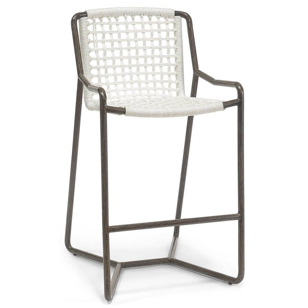 Dockside Outdoor Bar Stool - Furniture - Dining - High Fashion Home