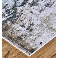 Feizy Rug Gaspar 3833F, White/Gray - Accessories - Rugs - Feizy Rugs