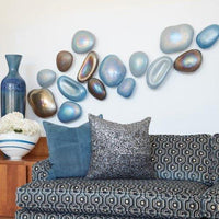 Glass Wall Gems, Set of 5 - Accessories - Wall Décor